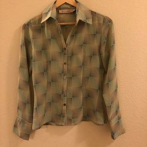 See by Chloe Blouse Sz 4